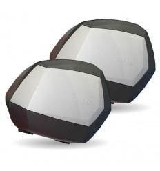 Juego Maletas Shad Sh35 Aluminio |D0B35100|