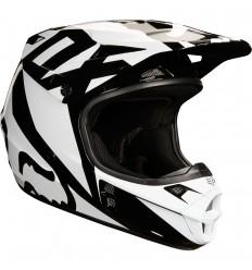 Casco Motocross Fox V1 Race Helmet, Ece Negro |19532-001|