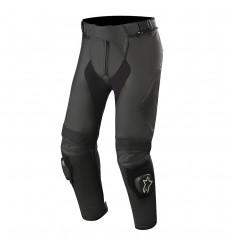 Pantalones Alpinestars Missile V2 Leather Pants Short Negro|3120619-10|