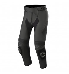 Pantalones Alpinestars Missile V2 Leather Pants Long Negro|3120719-10|