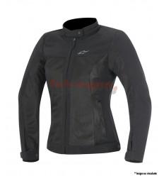 Chaqueta moto Alpinestars mujer verano ventilada eloise air jacket negro 2016 |3