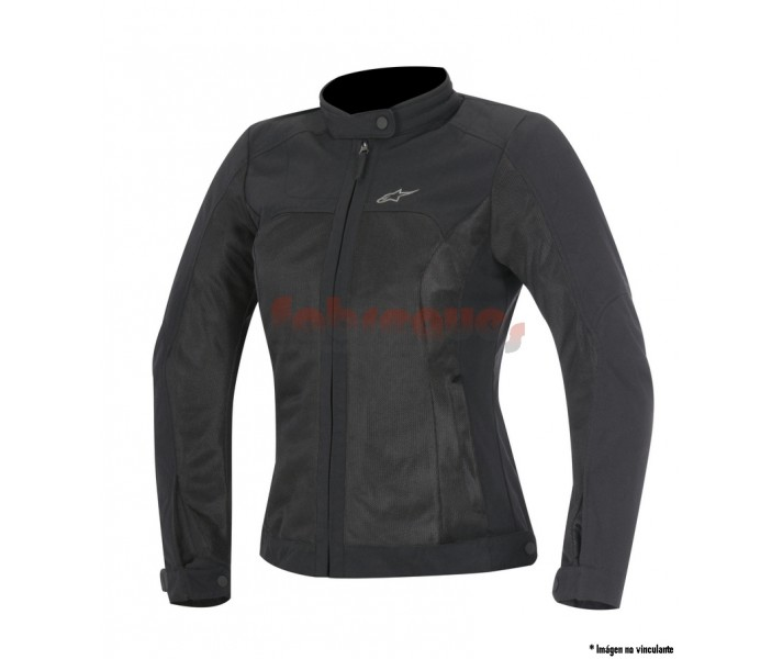 Chaqueta moto Alpinestars mujer verano ventilada eloise air jacket negro 2016  3