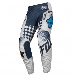 Pantalón Motocross Fox Yth 180 Czar Pant Infantil Claro Gris |21747-097|