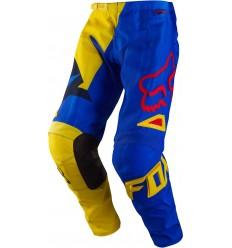 Pantalónes Fox Youth 180 Vandal Amarillo Azul T:24