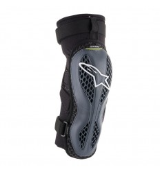 Rodillera Alpinestars Sequence Knee Protector Antracita Amarillo Fluor|6502618-1