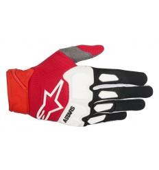 Guantes Alpinestars Motocross Racefend Gloves Negro Rojo Blanco |3563518-132|