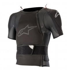 Peto Alpinestars Sequence Protection Jacket - Short Sleeve Negro|6505719-10|