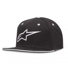 Gorra Alpinestars Ageless Flat Hat Negro / Blanco |1035-81015-1020|
