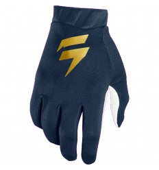 Guantes Motocross Shift 3Lack Air Azul Oro |22264-156|