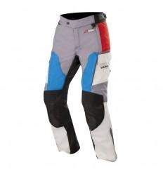 Pantalones Alpinestars Andes V2 Drystar Pants Gris Rojo Azul|3227418-977|