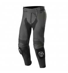 Pantalones Alpinestars Missile V2 Leather Pants Airflow Negro|3121519-10|