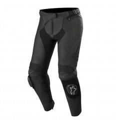 Pantalones Alpinestars Mujer Stella Missile V2 Leather Pants Negro|3130519-10|