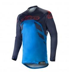 Camiseta Motocross Alpinestars Racer Tech Compass Jersey Oscuro Azul Marino Mid