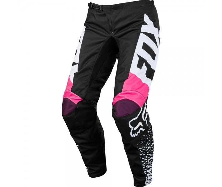 Pantalon Motocross Mujer Fox Wmn 180 Pant Negro Rosa |19439-285|