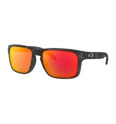 367aa16532 Gafas Sol Oakley Holbrook Aero Grid Negro Gris Lente Prizm Sapph ...