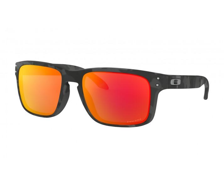 6179e011a Gafas Sol Oakley Holbrook Negro Camo Lente Prizm Ruby  OO9102-E955 ...