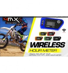 Conta Horas Wireless 4MX Negro