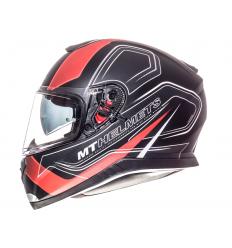 Casco MT Thunder 3 SV Trace Negro/Rojo Mate |10553560|