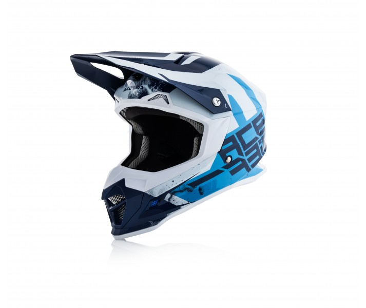 Casco Acerbis Profile 4 Azul Blanco