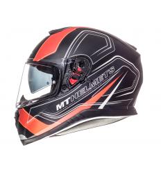 Casco MT Thunder 3 SV Trace Negro/Naranja Fluor Mate |10553563|