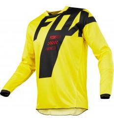 Camiseta Motocross Infantil Fox Yth 180 Mastar Jersey Amarillo  19444-005 