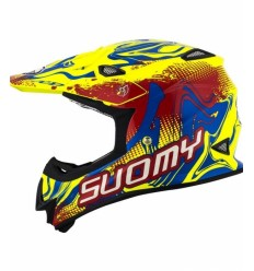 Casco Motocross Suomy Mr Jump Graffiti Amarillo/Rojo |11121506|