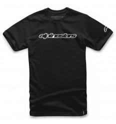 Camiseta Alpinestars Wordmarket Tee Negro |1036-72015|