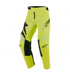 Pantalones Alpinestars Infantil Youth Racer Factory Pant Negro Amarillo Fluor|37