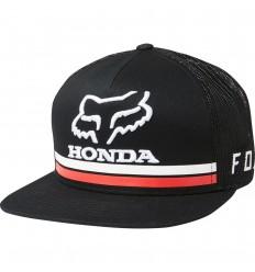 Gorra Fox Honda Snapback Hat Negro |22996-001|