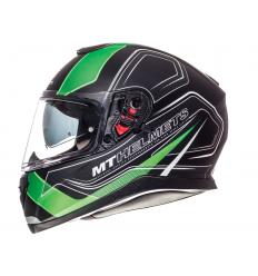 Casco MT Thunder 3 SV Trace Negro/Verde Fluor Mate |10553562|