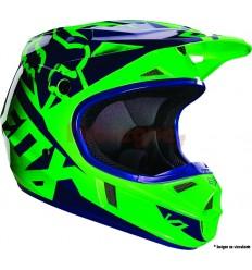 Casco Infantil Fox V1 Race Ece Verde Fluor Fx16|15227-395|