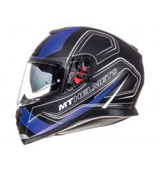 Casco MT Thunder 3 SV Trace Negro/Azul Mate |10553561|