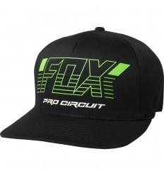 Gorra Fox Fox Pro Circuit Flexfit Hat Negro |23015-001|