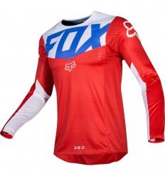 Camiseta Motocross Fox 360 Kila Jersey Azul Rojo |21718-149|