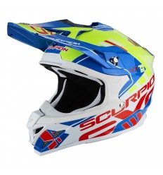 Casco Scorpion VX-15 EVO AIR ARGO Blue Neon Yellow |35-246-202|