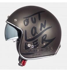 Casco Mt Le Mans Sv Outlander Marron Metalico Mate/Negro |10223842|