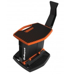 Caballete plegable movil de plástico Polisport naranja 8982700002