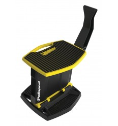 Caballete plegable movil de plástico Polisport amarillo 8982700001