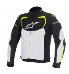 Chaqueta Alpinestars T-Gp Pro Jacket Negro Blanco Amarillo Fluor |3305016-125|