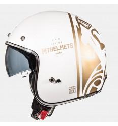 Casco Mt Le Mans Sv Divenire Blanco Perla/Oro Brillo |10223870|