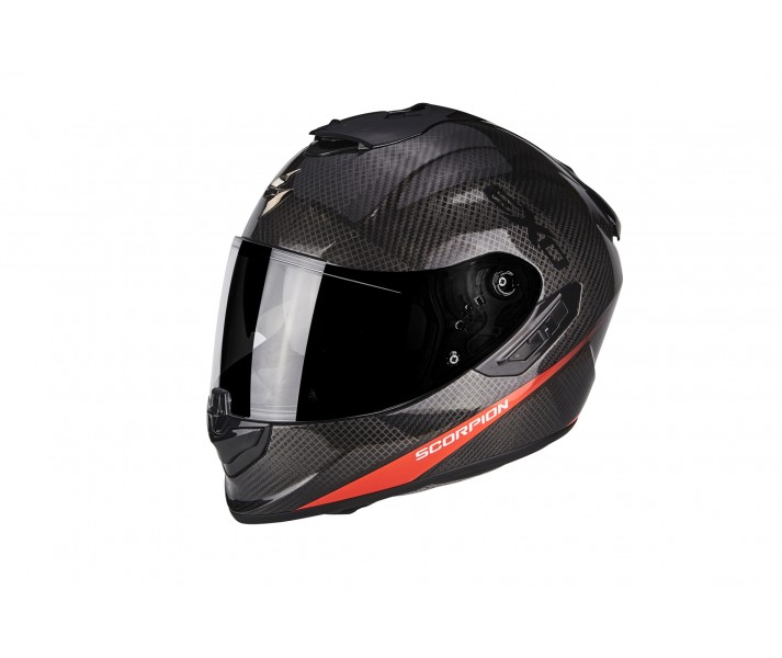 c249a5040c8d1 Casco Scorpion Exo-1400 Air Carbon Pure Rojo Neon - Fabregues Motos