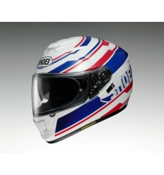 Casco Integral Shoei GT-Air Primal TC2 Blanco/Azul/Rojo |CSGTA1442|