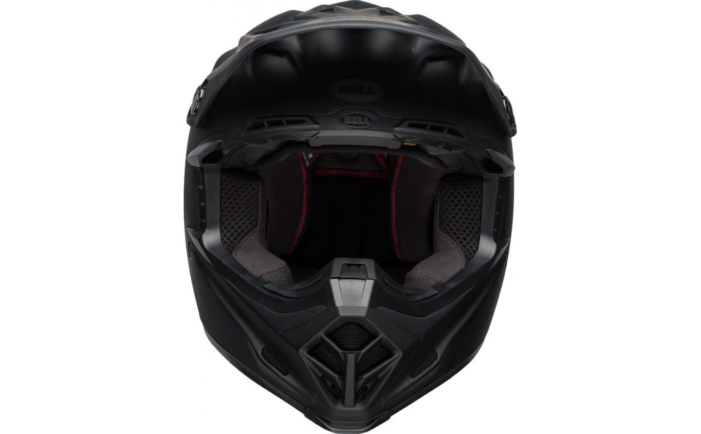 768718f559679 Casco Bell Moto-9 Mips Intake Negro Mate - Fabregues Motos