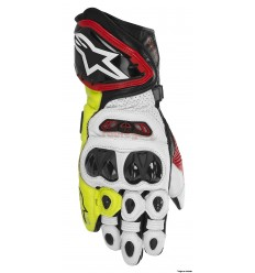 Guantes Alpinestars moto gp tech drystar glove negro rojo amarillo fluor2016 |35