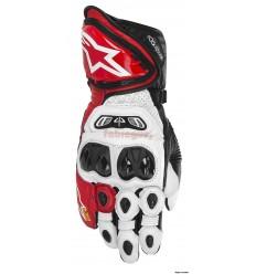 Guantes Alpinestars moto gp tech drystar glove blanco rojo negro 2016 |3556613-2