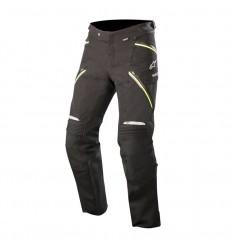 Pantalones Alpinestars Big Sur Gore-Tex Pro Negro Amarillo Fluor  3620018-155 