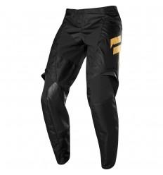 Pantalón Motocross Infantil Fox Youth Whit3 Muerte Pant Le [Blk/Gld]