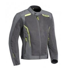 Chaqueta Textil Ixon Cool Air Gris Brillo Amarillo  0750096404 