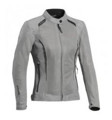 Chaqueta Textil Ixon Cool Air Mujer Gris  0757090803 