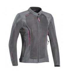 Chaqueta Textil Ixon Cool Air Mujer Gris Fuscia  0757096403 